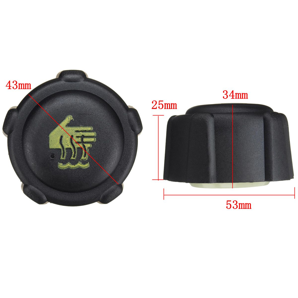 Twingo Thalia Radiator Expansion Water Tank Cap For Renault Scenic Traffic ll
