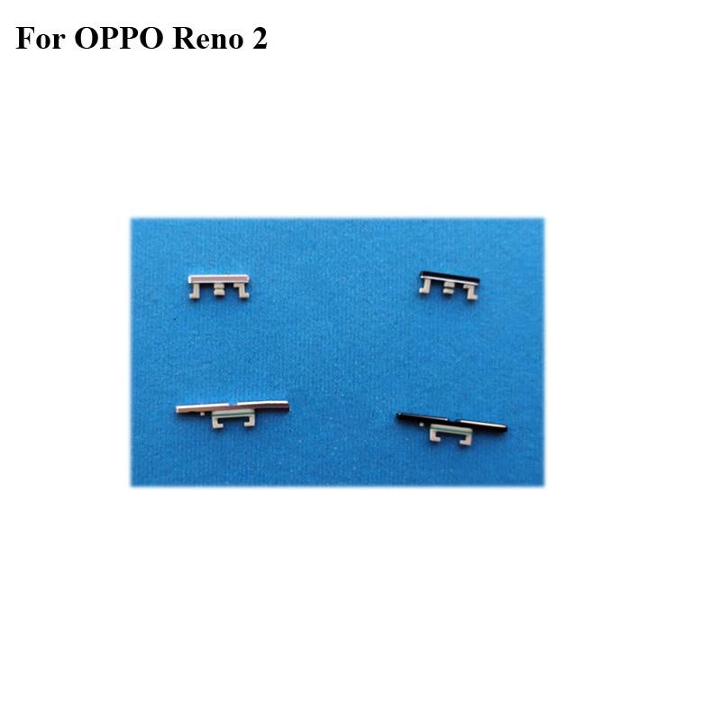 Black Blue Side Button Fo OPPO reno 2 Reno2 Power On Off Button + Volume Button Side Button Set Replacement  For OPPO re no 2