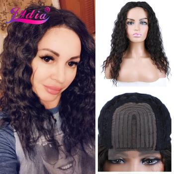 Lydia Long Synthetic Wigs for Women Natural Wavy Middle Part Lace Wig Heat Resistant Fiber Looking Mixed Hair - discount item  42% OFF Synthetic Hair
