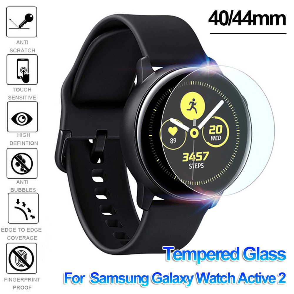 Gehard Glas Screen Protectors Guard Film Beschermende Huid Smart Horloge Cover Skin voor Samsung Galaxy Horloge Actieve 2 40mm 44mm