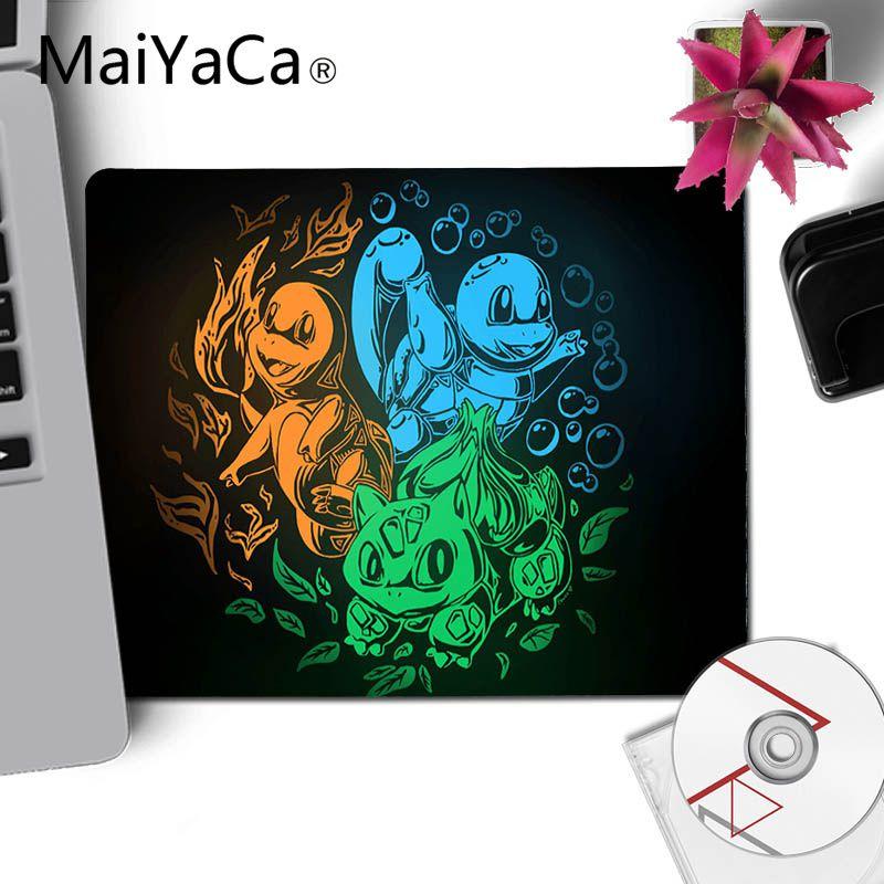 MaiYaCa Pokemons DIY Design Pattern Game mousepad XXL Mouse Pad Laptop Desk Mat pc gamer completo for lol/world of warcraft 2