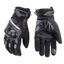 Дышащие мотоциклетные перчатки унисекс для полного пальца с ТПУ защитный Guantes Moto водонепроницаемый и высокочувствительный сенсорный экран