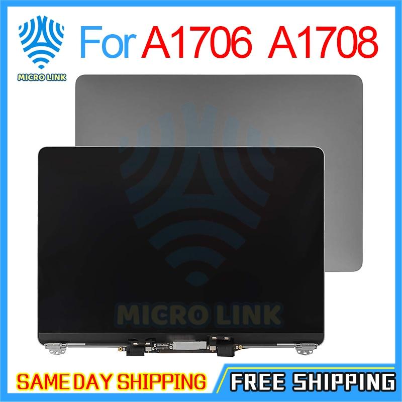 "Genuino completo A1706 LCD montaje de pantalla para Macbook Pro Retina 13 ""A1708 montaje de pantalla LCD reemplazo 2016 2017macbook promacbook pro 15lcd macbook pro 15 -"