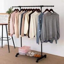 Hanger Coat-Rack Clothing Wardrobe Storage Bedroom Metal Indoor Home Floored-Drying-Rack