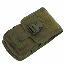 Тактическая двухслойная сумка для телефона мягкая денег инструментов
