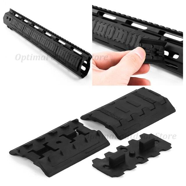 TOtrait tactique Mlok Rail couvre pour m-lok système de fente Rail panneau pour extérieur chasse montage noir chasse accessoires