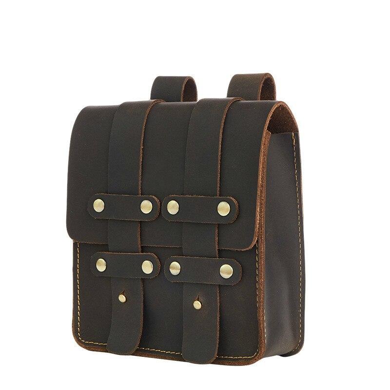 Мужская поясная сумка, чтобы купить мужская нагрудная сумка для мужчин, поясная сумка 859 кожаная мужская сумка Banane Marsupio Uomo Gamba Nerka - 3