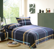 3 pcs bed sheets Twill simplicity and colors of aloe cotton wool grinder Three sets pillows bedding set luxury