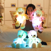 50cm Creative Light Up LED Teddy Bear Stuffed Animals Plush Toy Colorful Glowing  Christmas Gift for Kids Pillow Uncategorized Decoration Stuffed & Plush Toys Toys