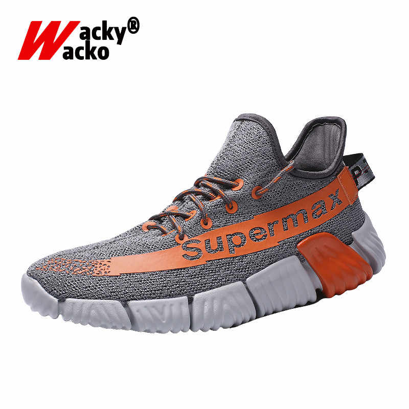 Wacky Wacko 2019 Casual Shoes New For Men Outdoor Sneakers Mesh Breathable Walking Footwear Trainers Lovers Shoes Size 36-46