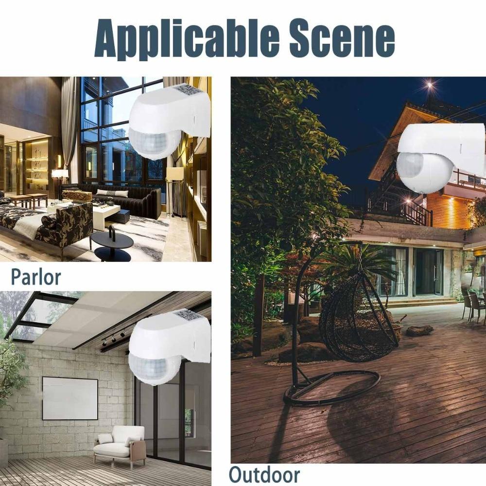 Sensitive-Infrared-PIR-Motion-Sensor-180-Degree-Adjustable-Wireless-Alarm-Detector-110V-220V-Time-Delay-Home (1)