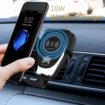 New Car Mount Qi Wireless Charger For IPhone 11 XS MAX X XR 8 Fast Wireless Charging Car Phone Holder For Samsung Note 9 S9 S10 aiyima qi wireless charger for iphone xs max x xr 8 automatic induction car phone holder fast charging for samsung note 9 s9 s8