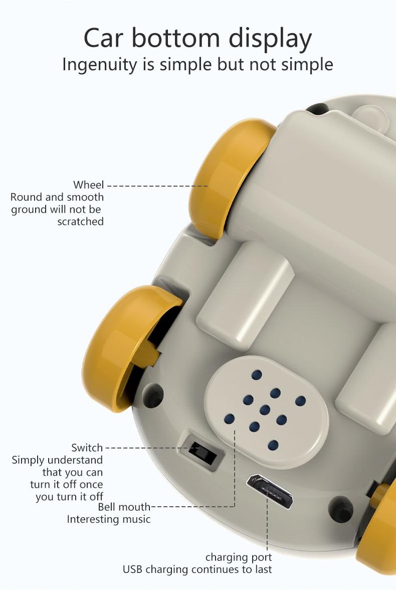 RC трюк автомобиль ручной контроль индукции следующий пульт дистанционного управления автомобиль для детей рождественские паровые подарки паровые игрушки для детей Домашние животные