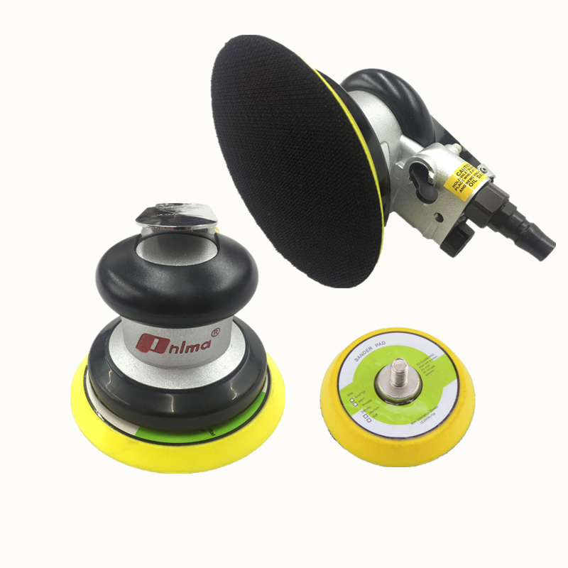 Pneumatic Tools Pneumatic Polishing Machine 5 Inch Round Pneumatic Sander Sandpaper Random Orbital Grinder Pneumatic Tools