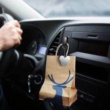 Storage Organizer Wall-Hook-Hanger Car-Hooks Headphone Auto-Fastener-Clip Usb-Cable
