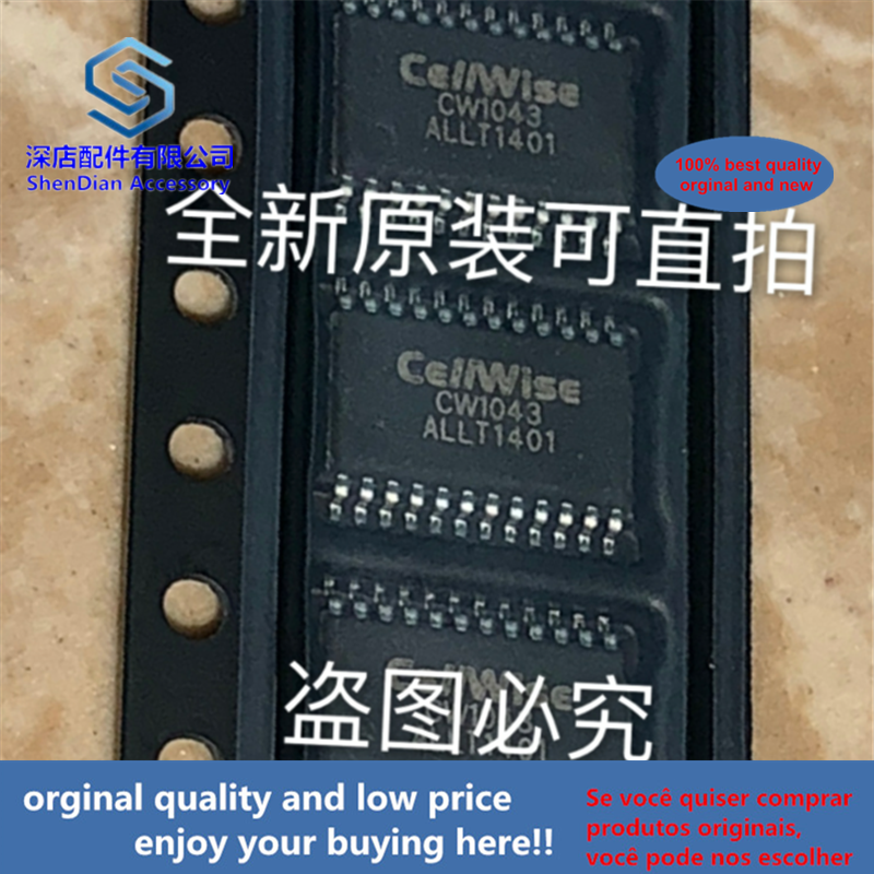5pcs 100% Orginal And New CW1043ALLT Cellwise TSOP24 CW1043 SOP  Best Qualtiy