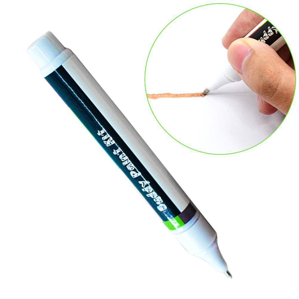 1pc 6ml caneta de tinta condutora circuito eletrônico caneta de desenho diy reparação de circuito desenho caneta de tinta instantaneamente mágico caneta condutora|Caneta multifunção|   -