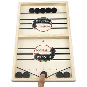 Games Puck Table Ice-Hockey-Games Interactive-Toy Catapult-Chess Amusement Fast-Sling