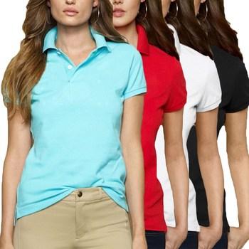 2020 nowe letnie modne koszulki Polo damskie nowe dorywczo z krótkim rękawem Slim koszulki Polo Mujer topy Plus rozmiar bawełniana koszulka Polo tee tanie i dobre opinie M T WOLFCHILD Osób w wieku 18-35 lat Na co dzień COTTON Stałe Anty-pilling Oddychająca Plus size Anti-shrink Natural color