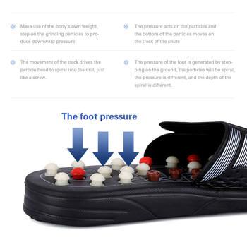 Pieds Massage pantoufles pieds r flexologie Acupuncture th rapie masseur marche pierre chaussures Acupuncture pav Massageador