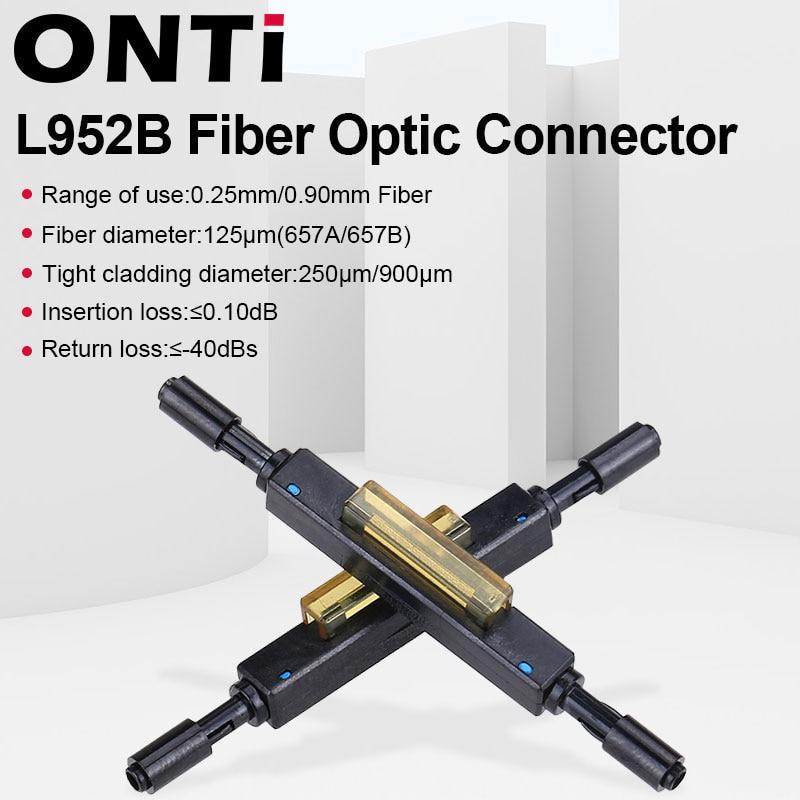 ONTi Fiber Optic Fast Connector L925B Fiber Optic Quick Connector for Drop Cable Bare Supply Optical Fiber Mechanical Splice