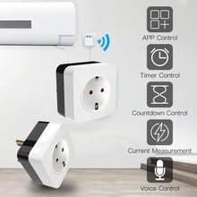 2020 nova casa inteligente wifi inteligente ar condicionado companheiro infravermelho inteligente tomada wi-fi interruptor de controle voz