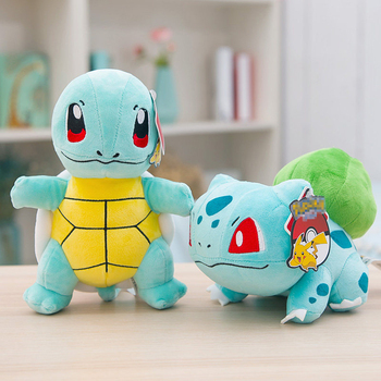 Charmander Squirtle Pikachued Bulbasaur Jigglypuff Lapras Eevee anime pokemoned stuffed toy Peluche plush doll Gift For kid 2