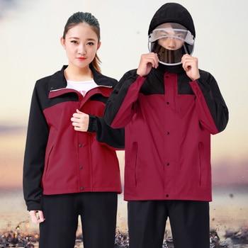 Cycling Waterproof Raincoat Jacket Hiking Stylish Raincoat Outdoor For Girl Reusable Capa De Chuva Infantil Rain Gear OO50YY