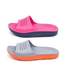 Eva Home Slippers Men Women Non-slip Massage Slippers Summer Outdoor Couple Slides Plus Size 36-49 цена 2017