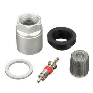 Para BMW Audi Mercedes-Benz Ford Jeep Toyota SENSOR de presión de neumáticos TPMS KIT de servicio de reconstrucción tapa de núcleo de válvula de tuerca