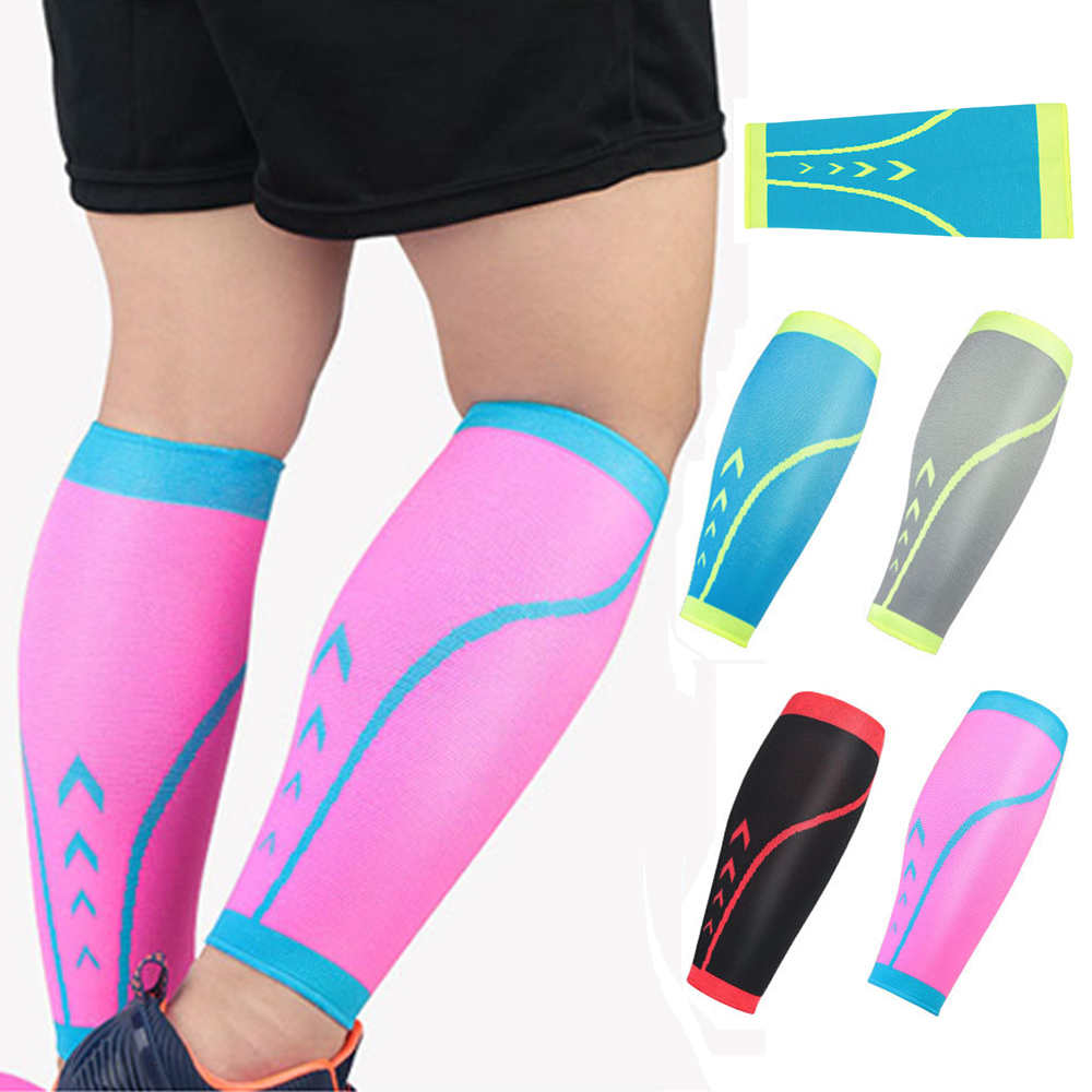 Sport Protective Calf Sleeve Knitted Breathable Compression Protection Leg Socks