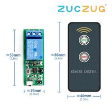 ИК 1 канал инфракрасного приемника дальнего света переключатель релейный модуль драйвера доска для рисования 5V + активный пульт дистанционного управления