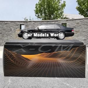 Image 5 - Döküm Görev Model Araba Modeli için S600 (Siyah) 1:18 + KÜÇÜK HEDIYE!!!!