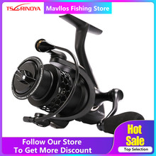 Tsurinoya ND 2000 3000 4000 5000 Spinning Reel Fishing 9BB 5.2: 1 Carp Fishing Spinning Reel Saltwater Carretel de Alumínio bobina(China)