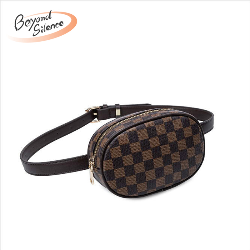 Waist-Bag Funny-Pack Coin-Phone Waterproof Fashion Women Female Nerka New Hot Zipper