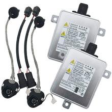 Novo xenon hid farol lastro lâmpada kits w3t19371 w3t16271 w3t20671 w3t20971 apto para mitsubishi mazda para acura