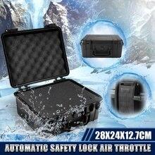 280X240X127mm Schutz Sicherheit Instrument Werkzeug Box Wasserdicht Stoßfest Lagerung Toolbox Versiegelt Werkzeug Fall Schwamm Koffer