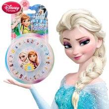 Дисней Замороженные наклейки для ногтей s Эльза Анна София девочка игрушки для детей Дисней принцесс Татто стикер для ногтей Аксессуары для девочек ювелирные изделия
