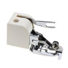 Acessórios da máquina de costura cortador lateral overlock presser pé imprensa para cantor janome irmão casa máquina de costura peças