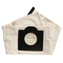 цена на 2 Pcs Washable Filter Bags for Karcher WD3 Rremium WD3200 SE4001 WD3300 Wd2 SE 4000 MV3 Vacuum Cleaner Bag