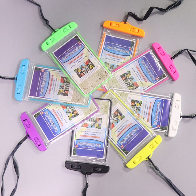Sealing Waterproof Phone Bags With Strap Protect Bag Dry Pouch Protective Case Cover 3.5-6inch Smart Phone Beach Swimming Bag