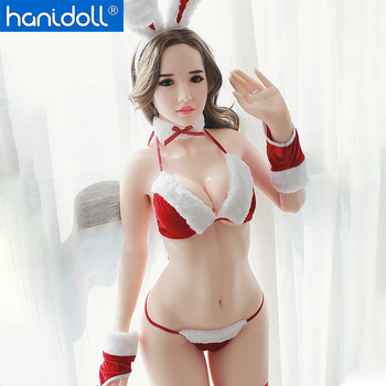 Hanidoll 170cm (5.57ft) Silicone Sex Dolls White Skin Love Doll Lifelike Realistic Ass Vagina Breast Oral Real Sex Doll for Men