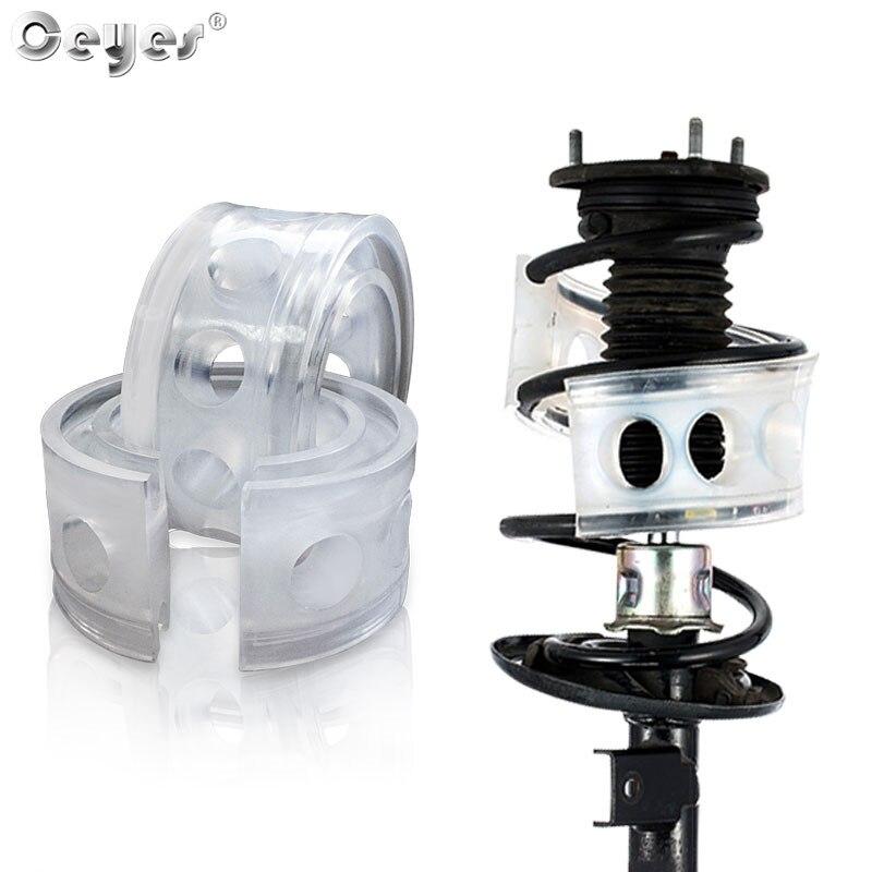 Ceyes 2 pçs estilo do carro avtobafery suspensão amortecedor mola de energia amortecedor auto-buffers acessórios autobuffer almofada carro