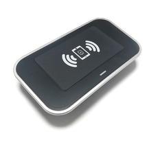 10 w carro qi carregador de telefone de carregamento sem fio carregador móvel sem fio placa de carregamento para toyota rav4 rav 4 2013 2018 acessórios