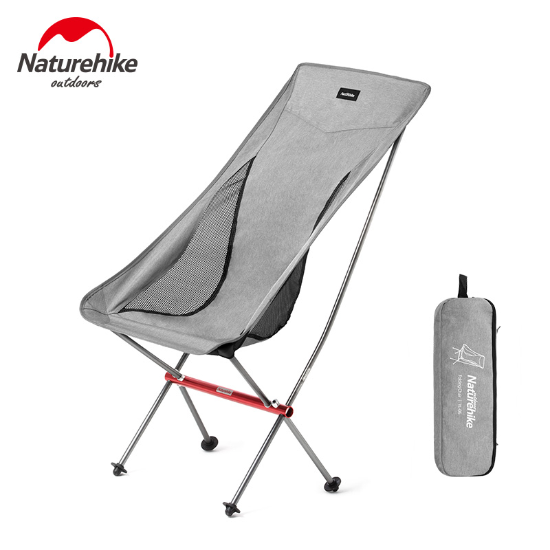 Naturehike Lightweight Collapsible Compact Foldable Beach Chair Fold Up Fishing Chair Heavy Duty Outdoor Folding Camping Chair