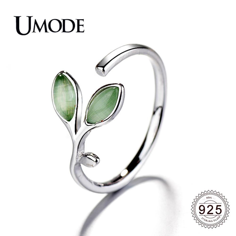 WOSTU Women Adjustable Rings 925 Sterling Silver Open Wrap Band Rings for Girls Women Silver Wave Rings