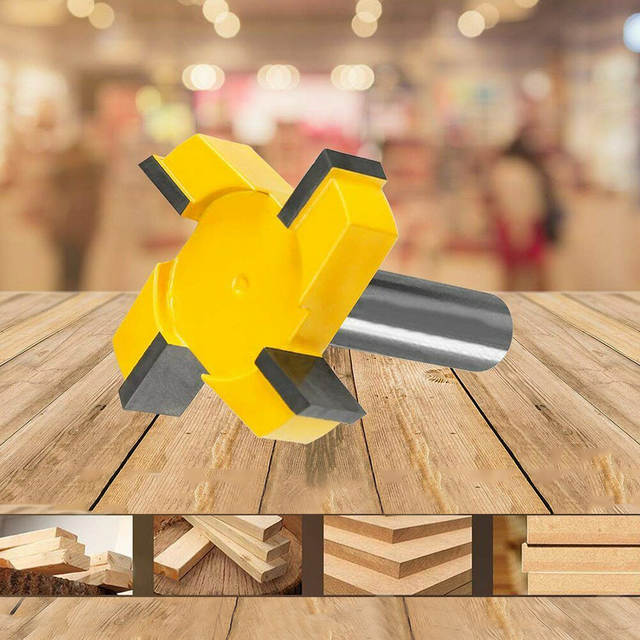 CNC Spoilboard Surfacing Router Bit 1//2 Inch Shank Durable Carbide Tipped Hot