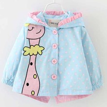 Menoea 2020 Brand Autumn Fashion baby girl coats Jackets Gir