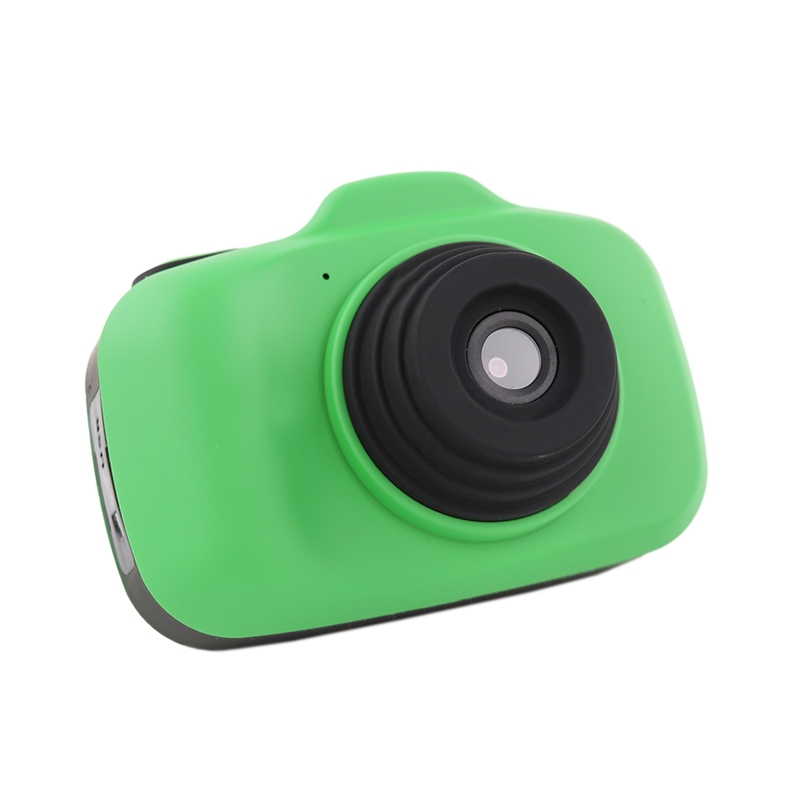 Children Mini Camera Toy Digital Photo Camera Kids Toys Educational Photography Gifts Toddler Toy 12Mp Hd Toy Camera - Green
