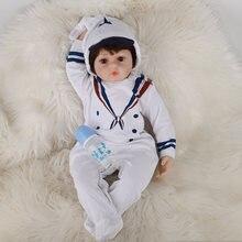 Кукла младенец jingxin prinses 60 см костюм морского флота с